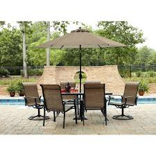 amazon com durango 7 piece patio dining set includes 4