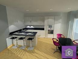 cuisine en 3 d plan de cuisine 3d amazing trendy creation meuble sur mesure une
