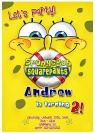 birthday supplies 20 best spongebob squarepants birthday invitations and party