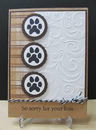 sympathy cards for pets savvy handmade cards pet sympathy card