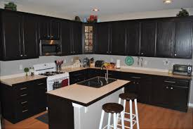 White Kitchen Dark Floors by Tiles And Lighting Enchanting Flooring Ideas Materials Kitchen