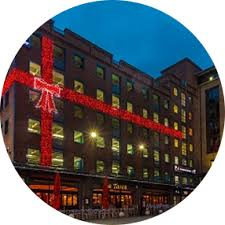Commercial Christmas Decorations Belfast by The Christmas Decorators