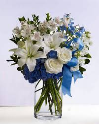 white and blue floral arrangements 26 best floral arrangements images on floral