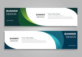 banner design jpg corporate banner design template download free vector art stock