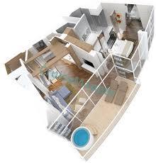 Explorer Of The Seas Floor Plan Allure Of The Seas Cabins And Suites Cruisemapper