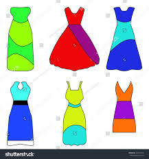vector illustration set 6 different types stock vector 424012276