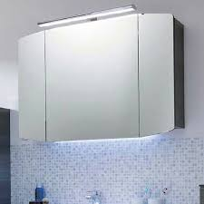 Bathroom Mirror Unit Cassca Bathroom Mirror Unit With Top Light 3 Doors With Power