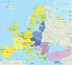 map of europr europe map 15th century