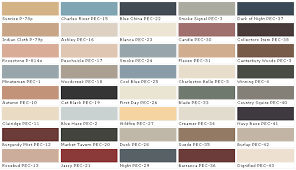 Craftsman Interior Colors Behr Interior Paint Colors Officialkod Com