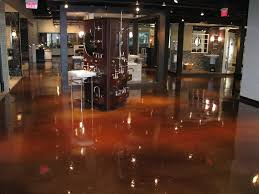 portfolio of completed epoxy floor projects retail commercial
