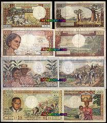 madagascar banknotes madagascar paper money catalog