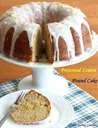 preserved lemon ginger pound cake the daring gourmet
