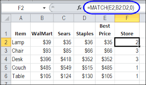 find best price with excel index and match contextures blog