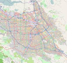 san jose district map berryessa san jose