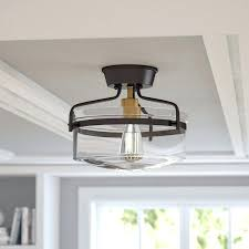 semi flush kitchen light fixtures flush mount kitchen light fixtures stevensimon org