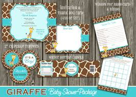 giraffe baby shower decorations giraffe baby shower decorations for boy