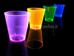 bicchieri fluorescenti bicchiere reagente agli uv wood glow fluo 60ml mod5 5 00eur