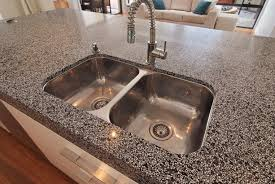 Kitchen Undermount Sink Kitchen Undermount Sink With Brown Wall Design And Small Glass