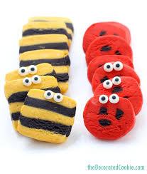 ladybug cookies simple ladybug and bumble bee slice and bake cookies