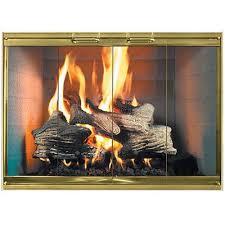 cool glass fireplace door brackets with black steel fireplace door