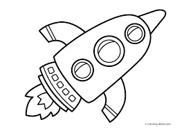 rocket coloring pages coloring page