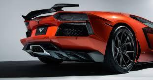 2014 Lamborghini Aventador - lamborghini aventador vorsteiner carbon fiber rear diffuser