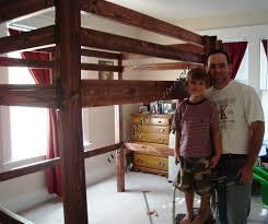 King Size Bunk Bed Inspiring Children Loft Bed Plans Top Design - Queen size bunk bed plans