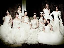 wedding dress lyrics korean for the promotion of the boys girl s generation took a wedding