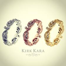 kirk kara wedding band 26 best wedding bands images on wedding bands