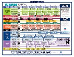 French Quarter Map New Orleans by 2013 French Quarter Festival Schedule Wwno