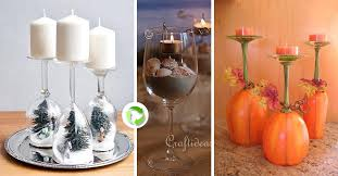 decorazioni bicchieri bicchieri creativi 27 creazioni originali con bicchieri di vetro
