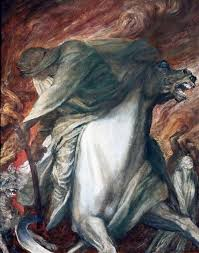 the four horsemen of the apocalypse the rider on the pale horse