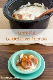crock pot candied sweet potatoes flour on my
