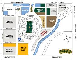 rutgers football parking map baylor football just got better for tailgaters tailgating ideas