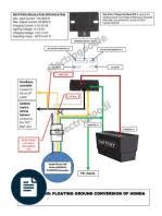 honda xrm110 stator to rr fullwave conversion