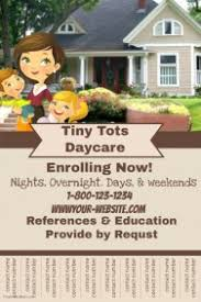 daycare brochure template customizable design templates for child care postermywall
