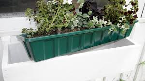 Deck Railing Planter Box Plans by How To Build A Window Flower Box Gardenfork Youtube