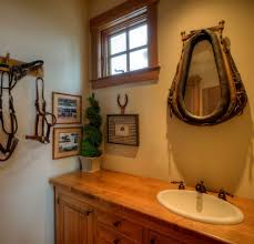 western style bathrooms fire up the oil lantern and take a look