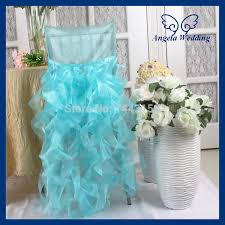 fancy chair covers ch007e wholesale fancy 100 polyester wedding ruffles curly