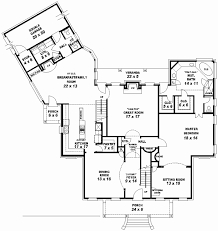 5 bedroom 4 bathroom house plans 48 new gallery of 4 bedroom 3 bath floor plans home house floor