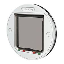 putting cat flap in glass door cat mate 4 way locking glass fitting cat flap white amazon co