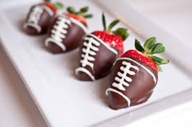 strawberry dipped in chocolate chocolate covered strawberry footballs tasty kitchen a happy