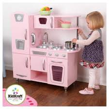 buy kidkraft pink vintage kitchen from our toy kitchen range tesco