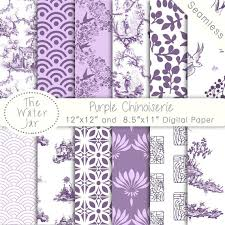 china designs chinoiserie china patter purple digital papers ultraviolet