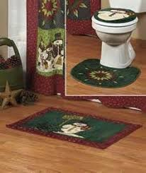 Christmas Bath Rug Set by Collections Etc Western Horses Bathroom Rug Set Collections Etc