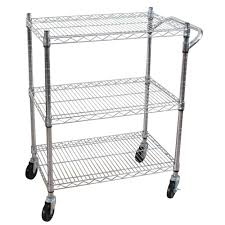 Laundry Room Storage Cart by Utility Carts Garage Storage The Home Depot