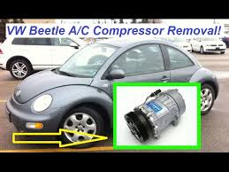 auto air conditioning repair 2000 volkswagen golf electronic valve timing vw beetle a c compressor removal and replacement beetle air