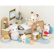 Sylvanian Families Garden Set Sylvanian Families Country Bathroom Set Ballantynes