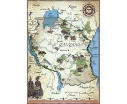 Tanzania Map Maps Of Tanzania Detailed Map Of Tanzania In English Tourist