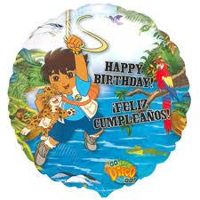 diego happy birthday foil balloon u2013 party splendourparty